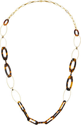 A.V. Max Long Tortoise Link Necklace