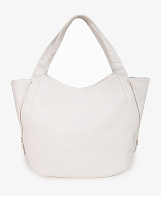 Forever 21 Zippered Side Tote