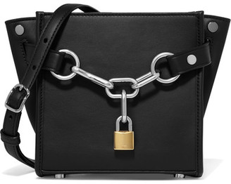 Alexander Wang - Attica Chain Mini Leather Shoulder Bag - Black $650 thestylecure.com