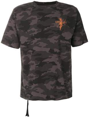 Unravel Project camouflage T-shirt
