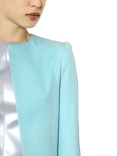 Gareth Pugh Double Crepe Silk Coat