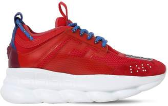 Versace Chain Reaction Mesh Sneakers