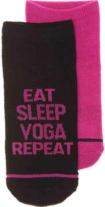Steve Madden Yoga Repeat No Show Socks - 2 Pack - Women's