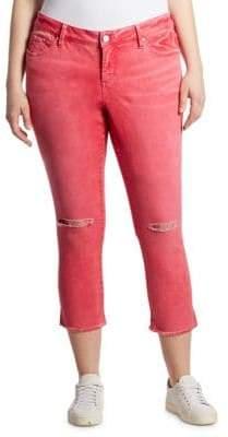 Slink Jeans, Plus Size Plus Cropped Jeans