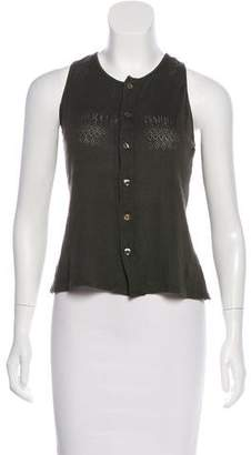 Jean Paul Gaultier Classique Sleeveless Knit Top