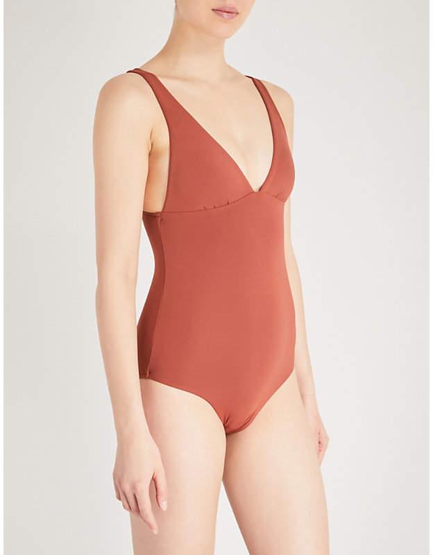 Active V-neck swimsuit