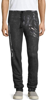 PRPS Spray-Paint Logo Jogger Pants