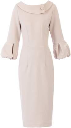 Dorothy Perkins Womens *Jolie Moi Oyster Puffy Sleeved Dress