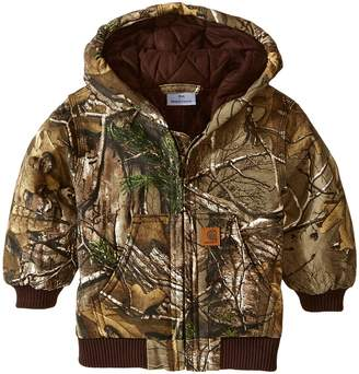 Carhartt Kids Camo Active Jac Boy's Coat