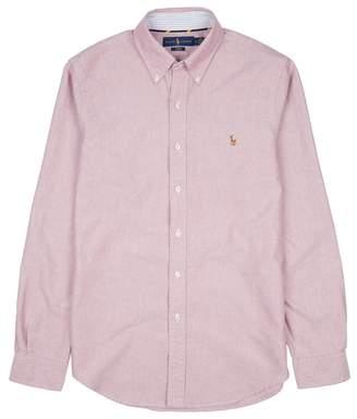 Polo Ralph Lauren Raspberry Slim Cotton Oxford Shirt