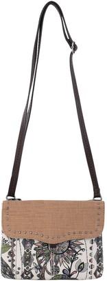 The Sak Sakroots Print Austen Double Gusset Crossbody Bag
