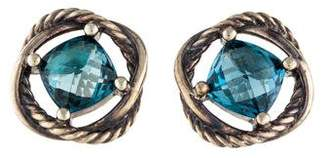 David Yurman Crossover Topaz Infinity Earrings