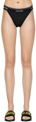 Calvin Klein Underwear High Cut Cotton Jersey Briefs