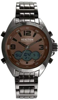 Kenneth Cole Reaction Men's Analog Quartz & Digital Bracelet Watch, 46.5mm