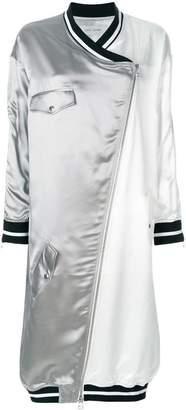 Each X Other zip-front oversized coat