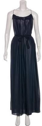 L'Agence Maxi Slip Dress