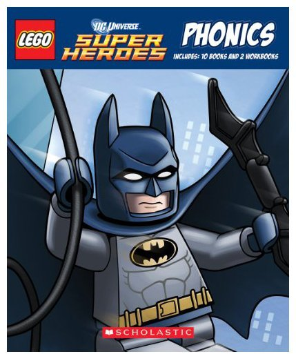 Lego DC Super Heroes: Phonics, Box Set