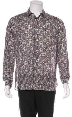 Saint Laurent 2017 Paisley Print Shirt w/ Tags