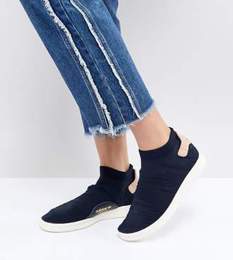 adidas Stan Smith Sock Primeknit Sneakers In Navy