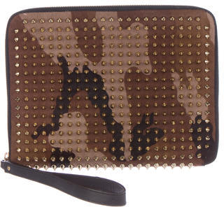Christian Louboutin  Christian Louboutin Spiked iPad Case