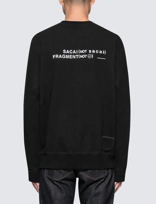 Sacai X Fragment Design Sweatshirt