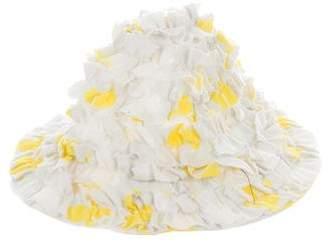 Isabel Garreton Girls' Printed Tiered Hat