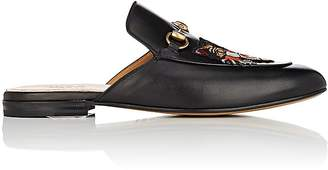 Gucci Men's Kings Leather Slippers