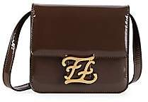 Fendi Women's Karligraphy Patent Leather Crossbody Bag