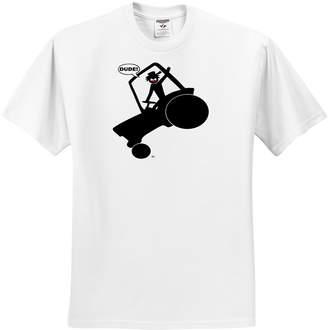 Equipment 3dRose Mark Grace SCREAMNJIMMY Heavy AGGIE RODEO DUDE image 2 - T-Shirts - Adult T-Shirt