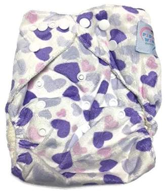 Piddly-Winx 'Sweet Tarts' One Size Fits All Bamboo Cloth Diaper with Insert