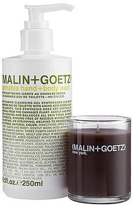 Malin+Goetz Cannabis Hand Wash + Votive Set