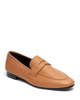 Bougeotte Acajou Leather Penny Loafers