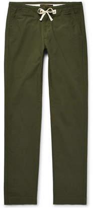 Freemans Sporting Club Slim-Fit Cotton-Ripstop Drawstring Trousers