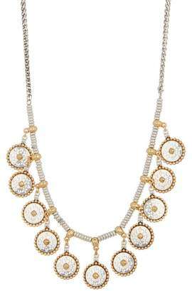 Lucky Brand Geo Coin Collar Necklace