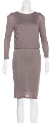Alice + Olivia Stretch Knit Knee-Length Dress