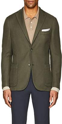 "Boglioli Men's ""K Jacket"" Cotton-Linen Two-Button Sportcoat"