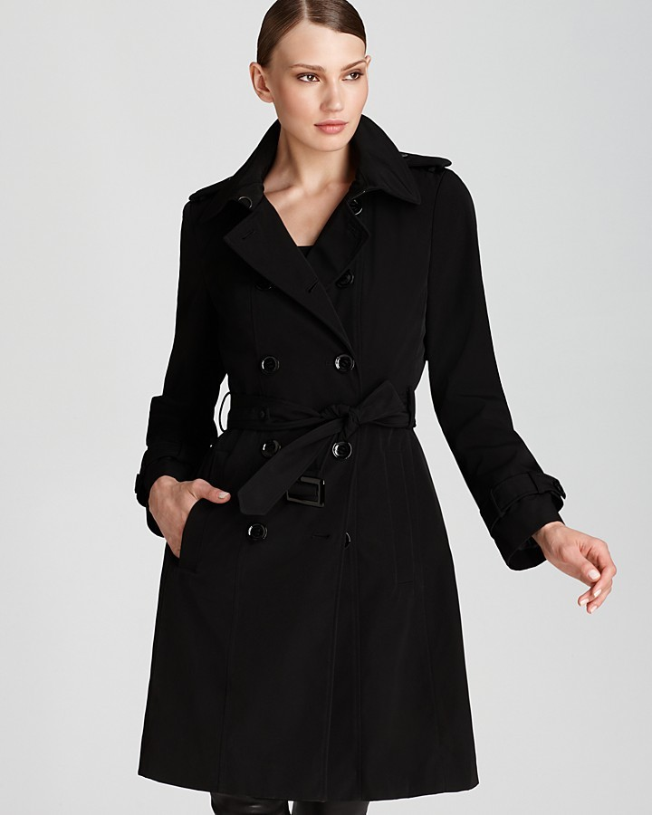 Calvin Klein Double Breasted Rain Trench