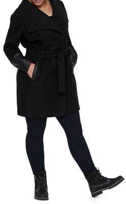 Junarose Plus Calla Tie-Front Jacket
