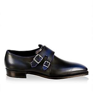 Arca Corthay Men's Twin Pullman French Calf Leather Shoes