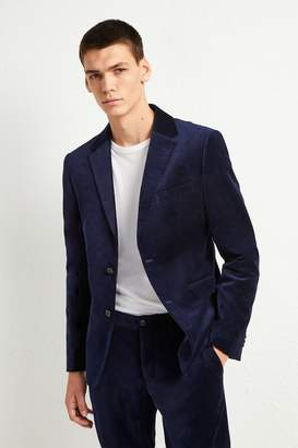 French Connenction Plush Velvet Jacket