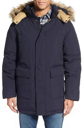 Schott NYC 'Iceberg' Water Resistant Down Parka with Faux Fur Trim