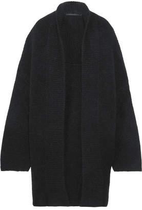 Haider Ackermann - Oversized Mohair-blend Cardigan - Black $1,070 thestylecure.com