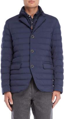 Serge Blanco Marine Quilted Jacket
