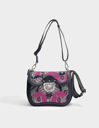 Furla Ducale Small Crossbody Bag in Multicolour Calfskin