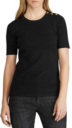 Ralph Lauren Short-Sleeve Sweater