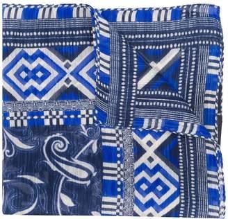 Etro printed style scarf