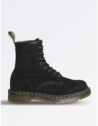 Dr. Martens 1460 soft buck 8-eye boots
