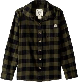 Billabong Kids Buttoned Up Long Sleeve Shirt Girl's Long Sleeve Button Up
