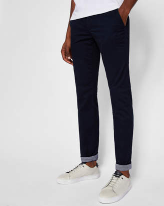 Ted Baker FINNET Printed cotton chinos