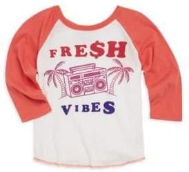 Baby's, Toddler,'s Little Boy's & Boy's Fresh Vibes Raglan Tee